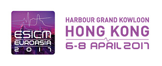 ESICM EUROASIA  HONG KONG, 6-8 APRIL 2017